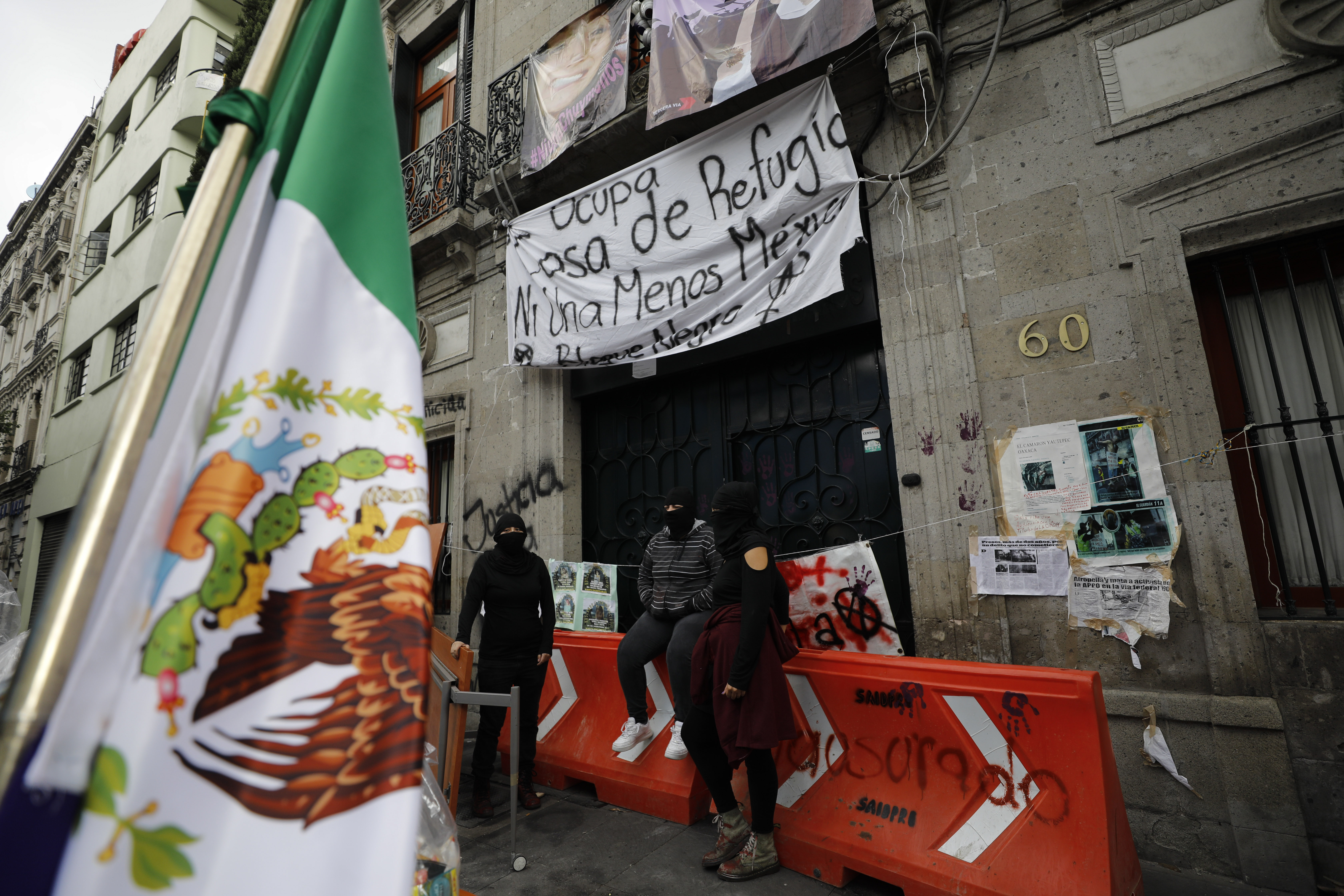 Growing more radical, Mexican feminists seize control of a federal building