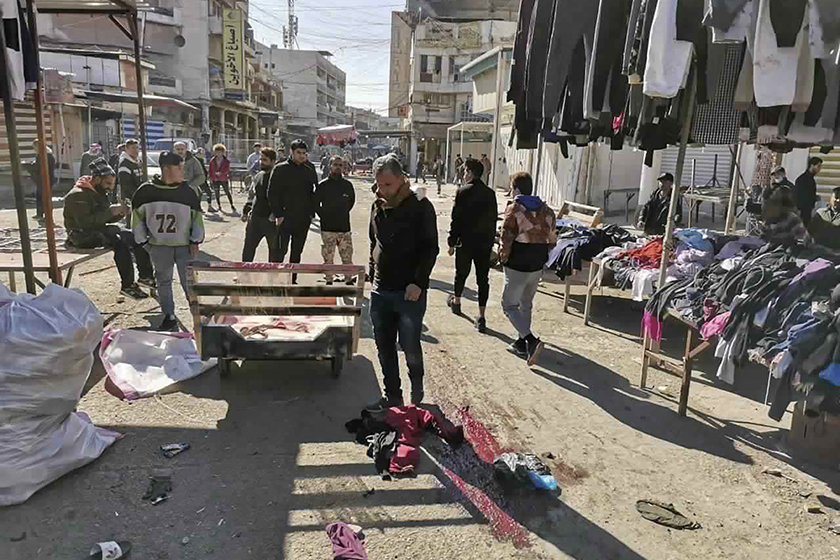 Islamic State claims responsibility for twin suicide bombings in Baghdad