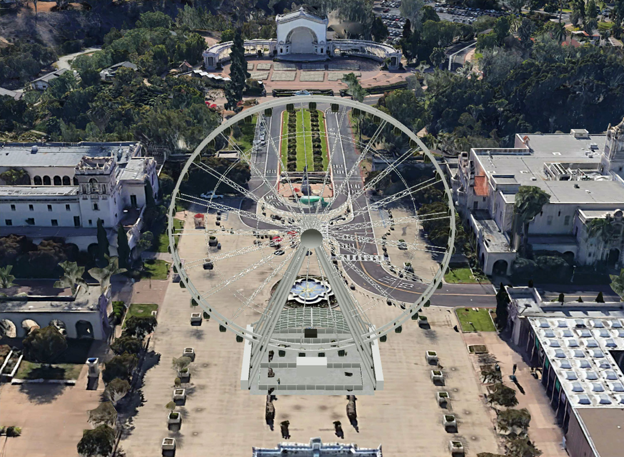 Controversial plan for Balboa Park observation wheel nixed