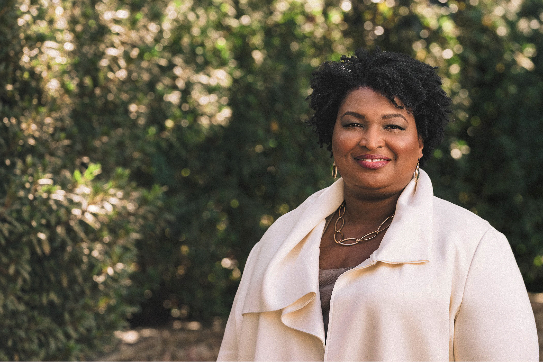 """Stacey Abrams on her legal thriller """"While Justice Sleeps"""""""