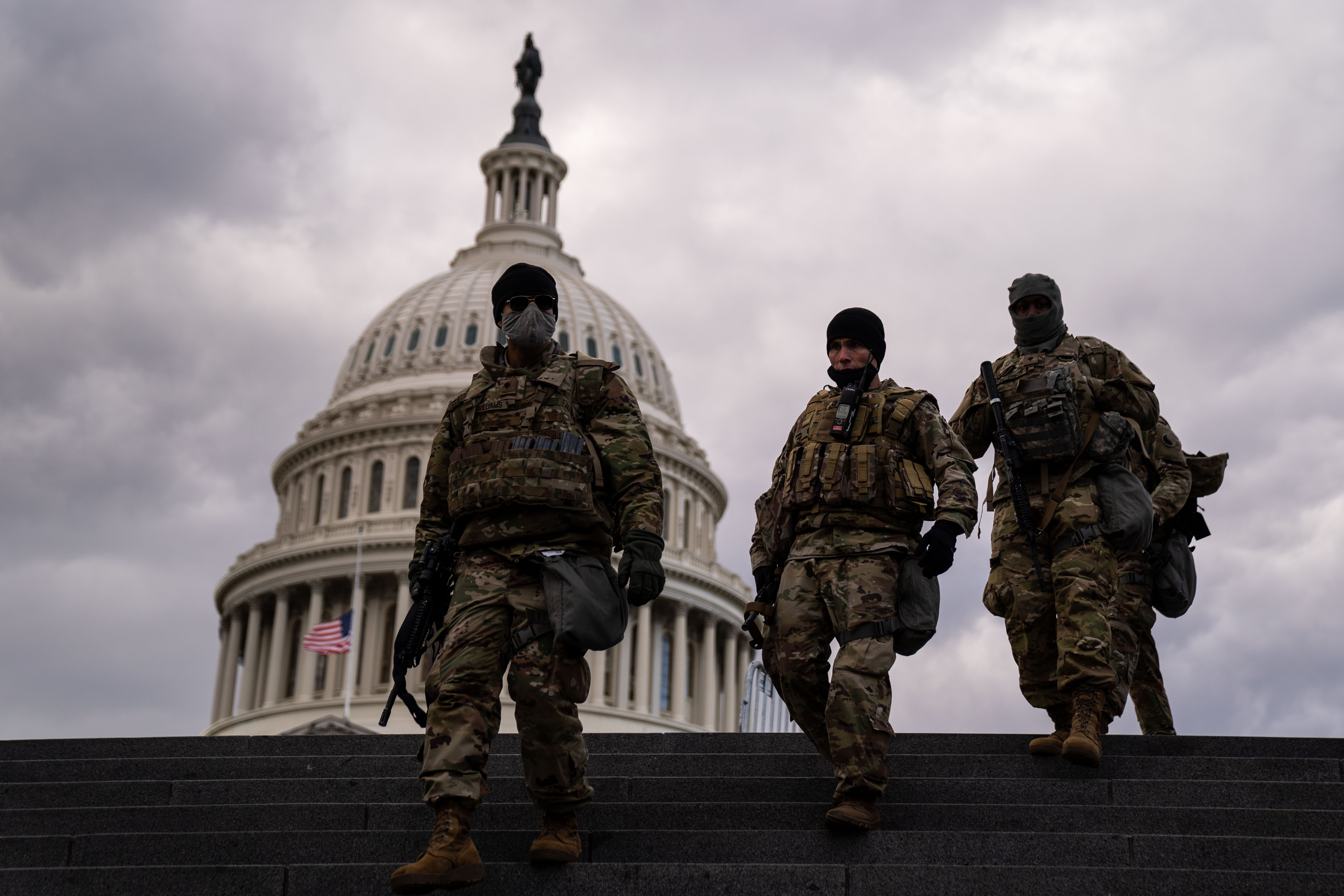 National Guard seeks to prevent a man-made disaster at Capitol