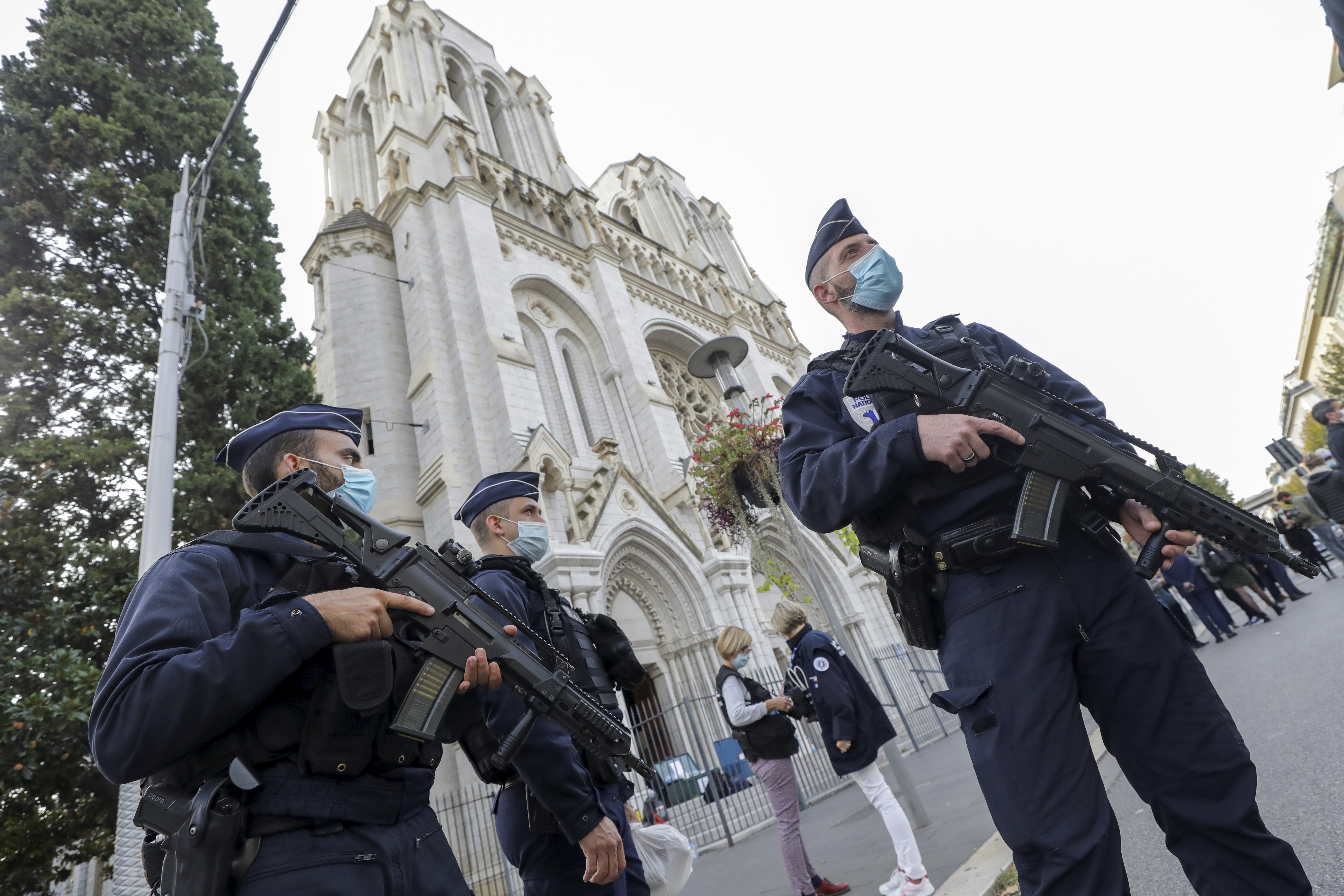 2nd person arrested in France church terrorist attack