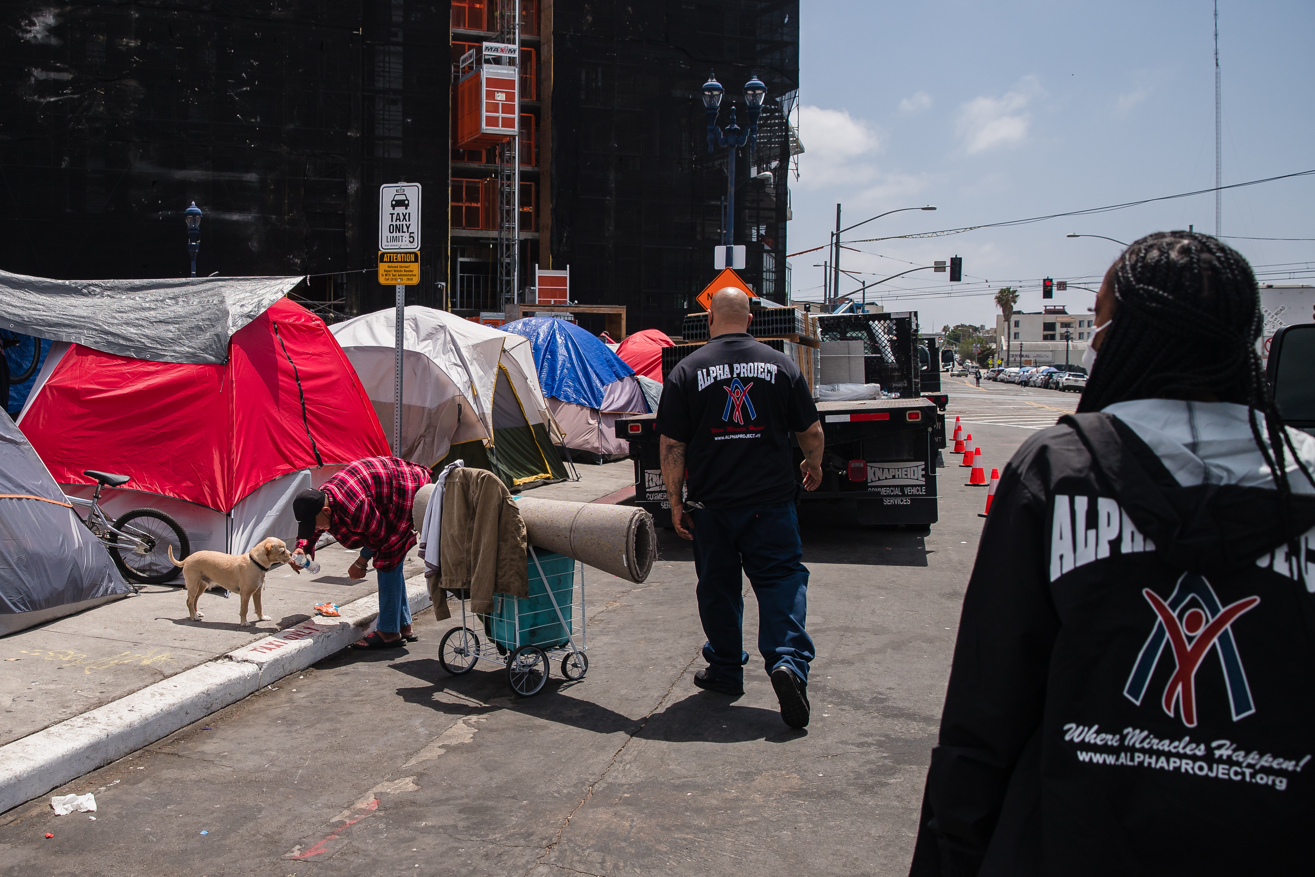 Why does it seem like there are more homeless on the streets?